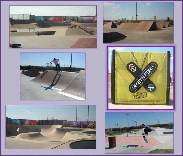 Scion Skate Park Collage