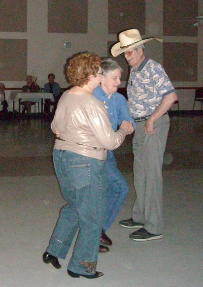 couple dancing at Senior Center