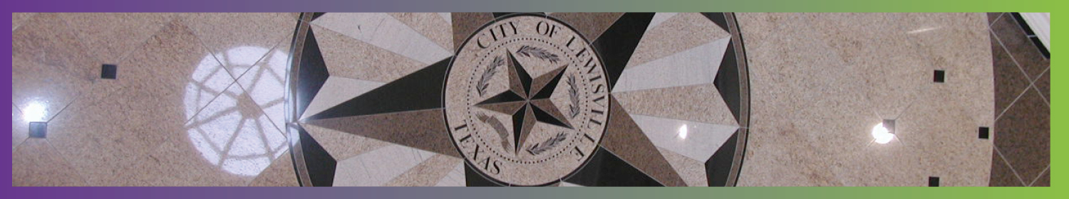 City Manager Department banner