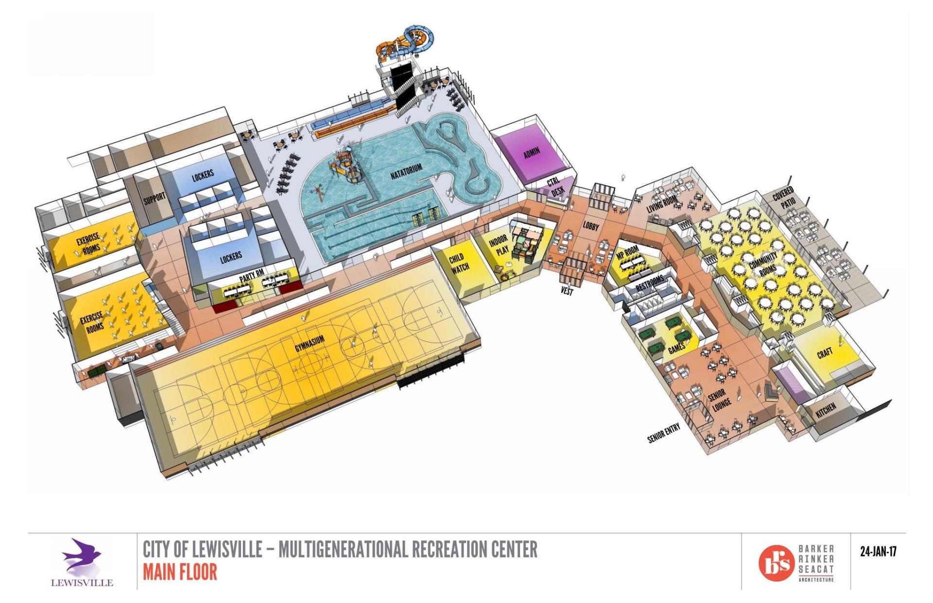 Multigenerational Center City Of Lewisville Tx