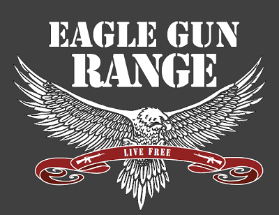 Eagle Gun Logo Grey Background