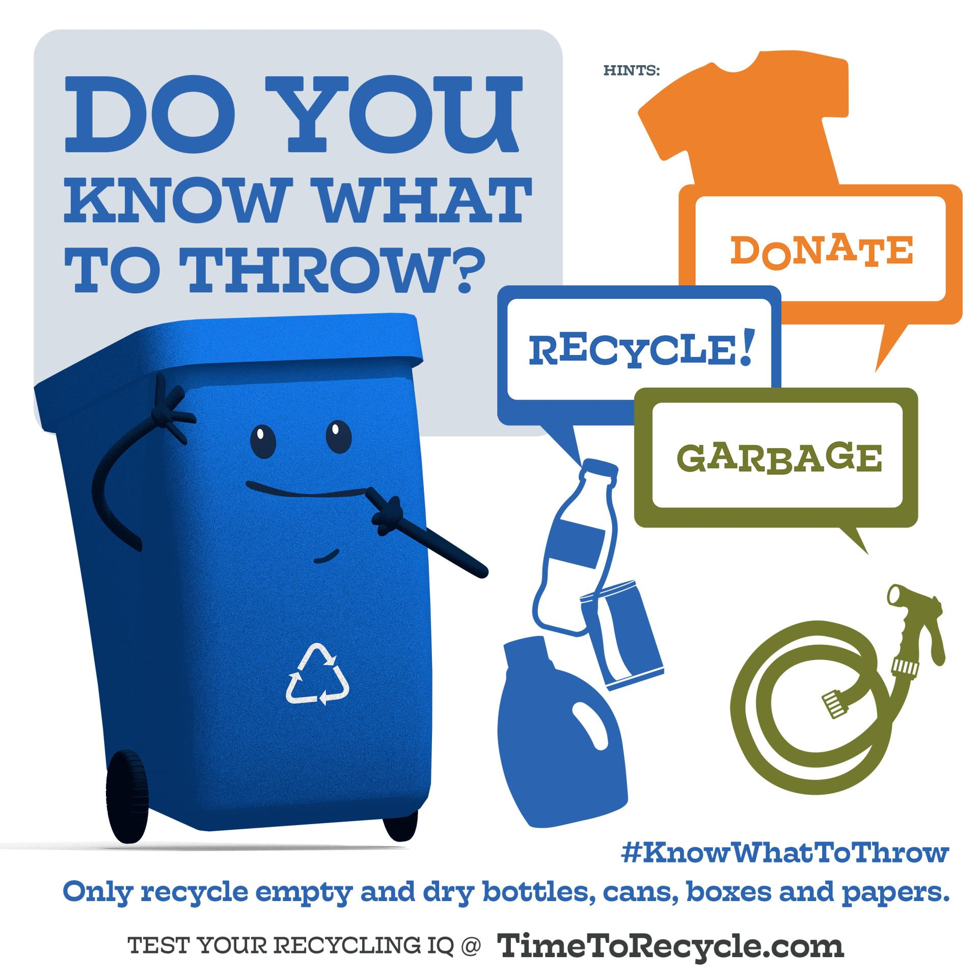 Recycle Donate Garbage 10_x10_ Ad
