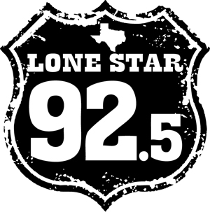 92.5LoneStarLogo-black-shield