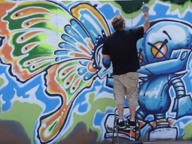 street artist news story